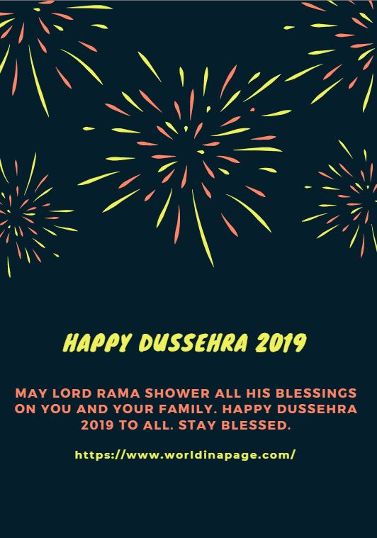 Happy Dussehra 2019 Wishes Messages Quotes Images And