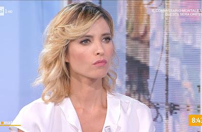 Monica Giandotti conduttrice TV Unomattina 15 settembre foto