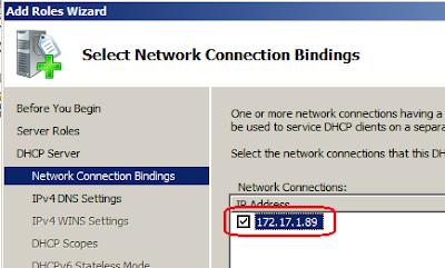 Configure DHCP Server