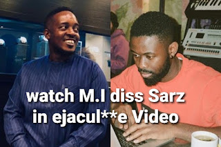 M I abaga and Sarz ejaculate joke turns to fight