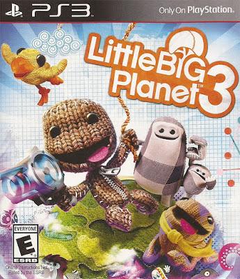 Cover design for LittleBigPlanet 3.
