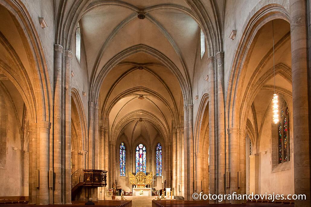 La catedral de Sion o Notre Dame du Glarier