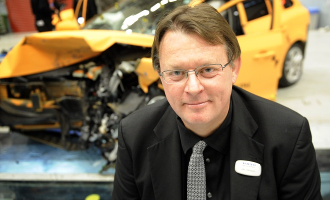 Volvo safety manager Jan Ivarsson
