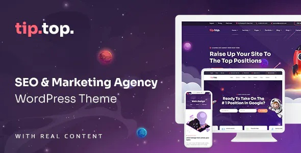 Best SEO Marketing Agency WordPress Theme