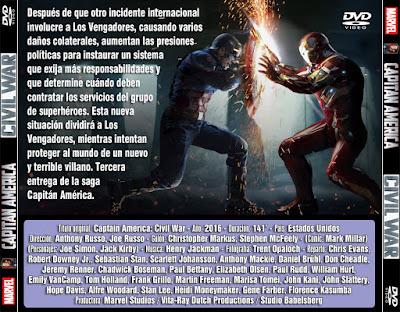 Capitán América - Civil War - [2016]