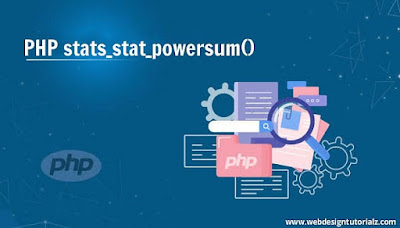 PHP stats_stat_powersum() Function