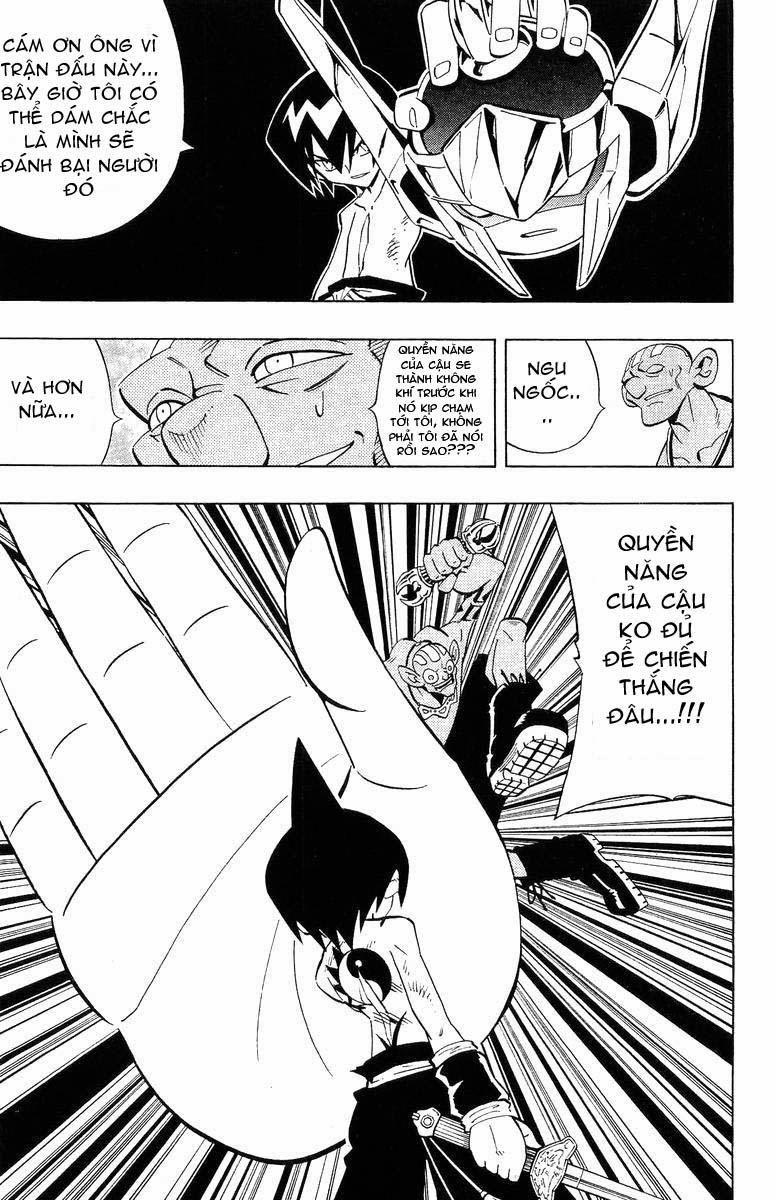 Shaman King [Vua pháp thuật] chap 223 trang 15
