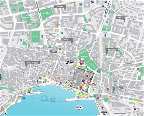 Split city map