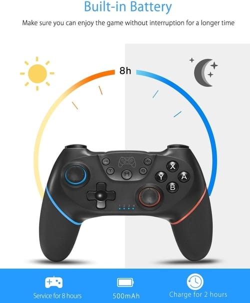 Qiaoting Switch Remote Gamepad with Joystick