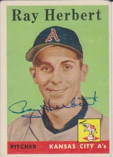 1958 Topps, Ray Herbert