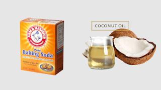 Coconut oil Baking soda Toothpaste recipe