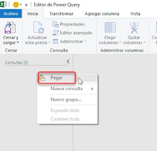 Power Query: Exportar Consultas entre Libros