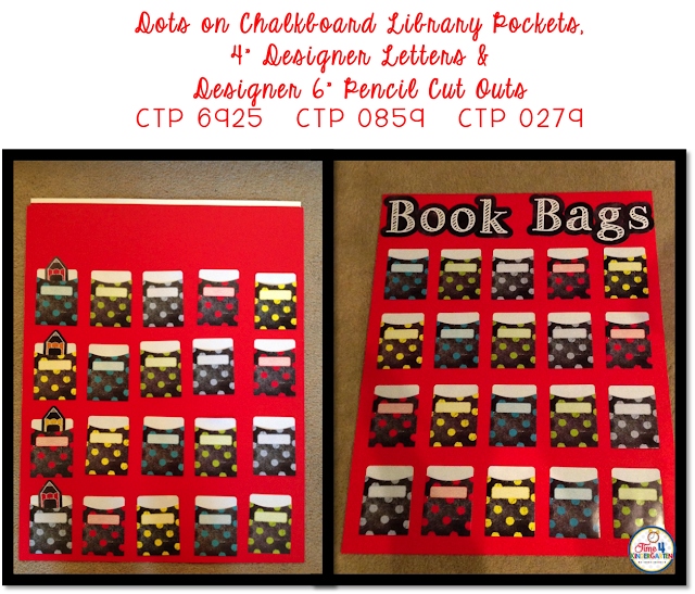 CTP Chalk It Up Collection- Book Bag Check Out System