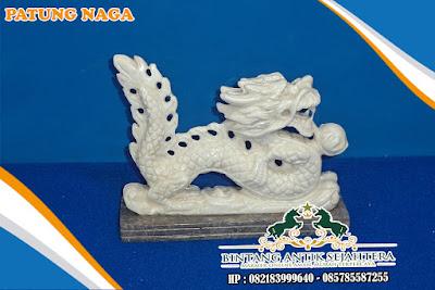 Patung Naga Marmer | Furniture Patung Naga Marmer