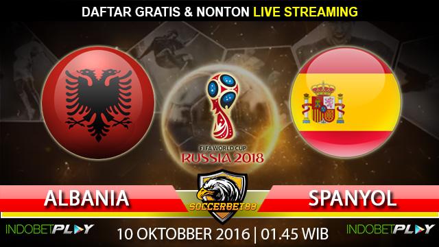 Prediksi Albania vs Spanyol 10 Oktober 2016 (Piala Dunia 2018)