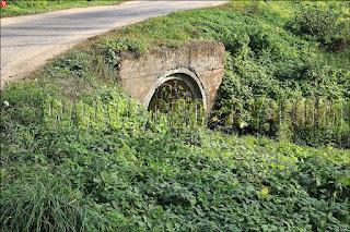 Поморщина. Усадьба Пролесковских: мост через ручей
