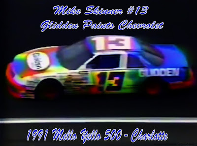 Mike Skinner #13 Glidden Paints Chevrolet Racing Champions 1/64 NASCAR diecast blog 1991 Charlotte Winston Cup Thee Dixon