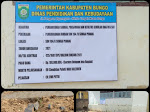 Pengerjaan Jamban/ WC SDN 104/II Sungai Pinang Kab Bungo Diduga Tidak Sesuai Spek. Cacat Mutu