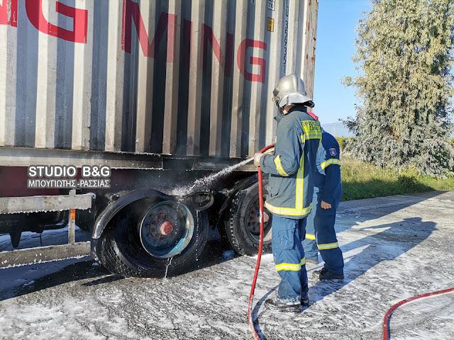 Αργολίδα: Πυρκαγιά σε φορτηγό αυτοκίνητο στο Άργος