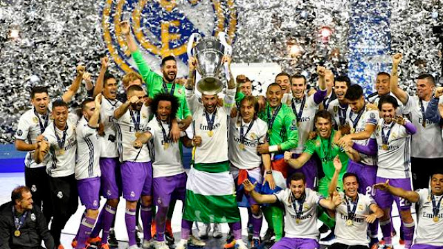 Wallpaper Real Madrid Untuk Android (HD) Versi Juara UCL (A POR LA 12)