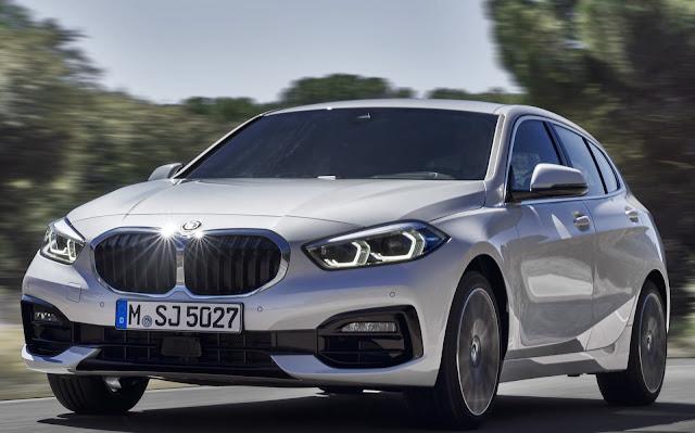 BMW Série 1: motor 1.5 de 3 cilindros