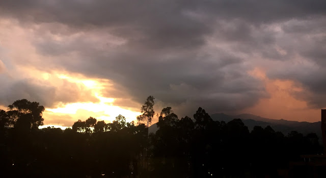 Storm and Sunset 3