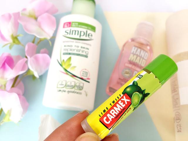 Festival Skincare Essentials Carmex Lime Lipbalm