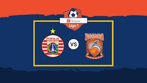 Tiket Online Persija vs Borneo FC di Liga 1 2020