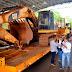 Construção da Segunda ponte avança! Chegaram ao lado Paraguaio as máquinas que vão iniciar as obras.