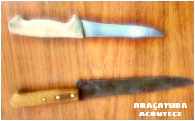 GCM detém dois homens durante briga de faca na rua em Araçatuba