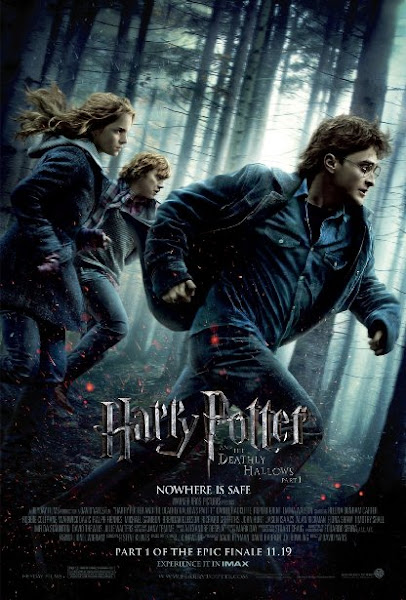 Poster Of Harry Potter and the Deathly Hallows Part 1 2010 720p Hindi BRRip Dual Audio