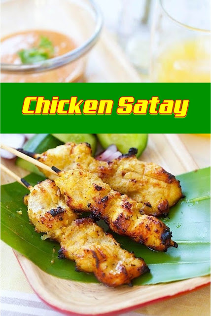 #Chicken #Satay