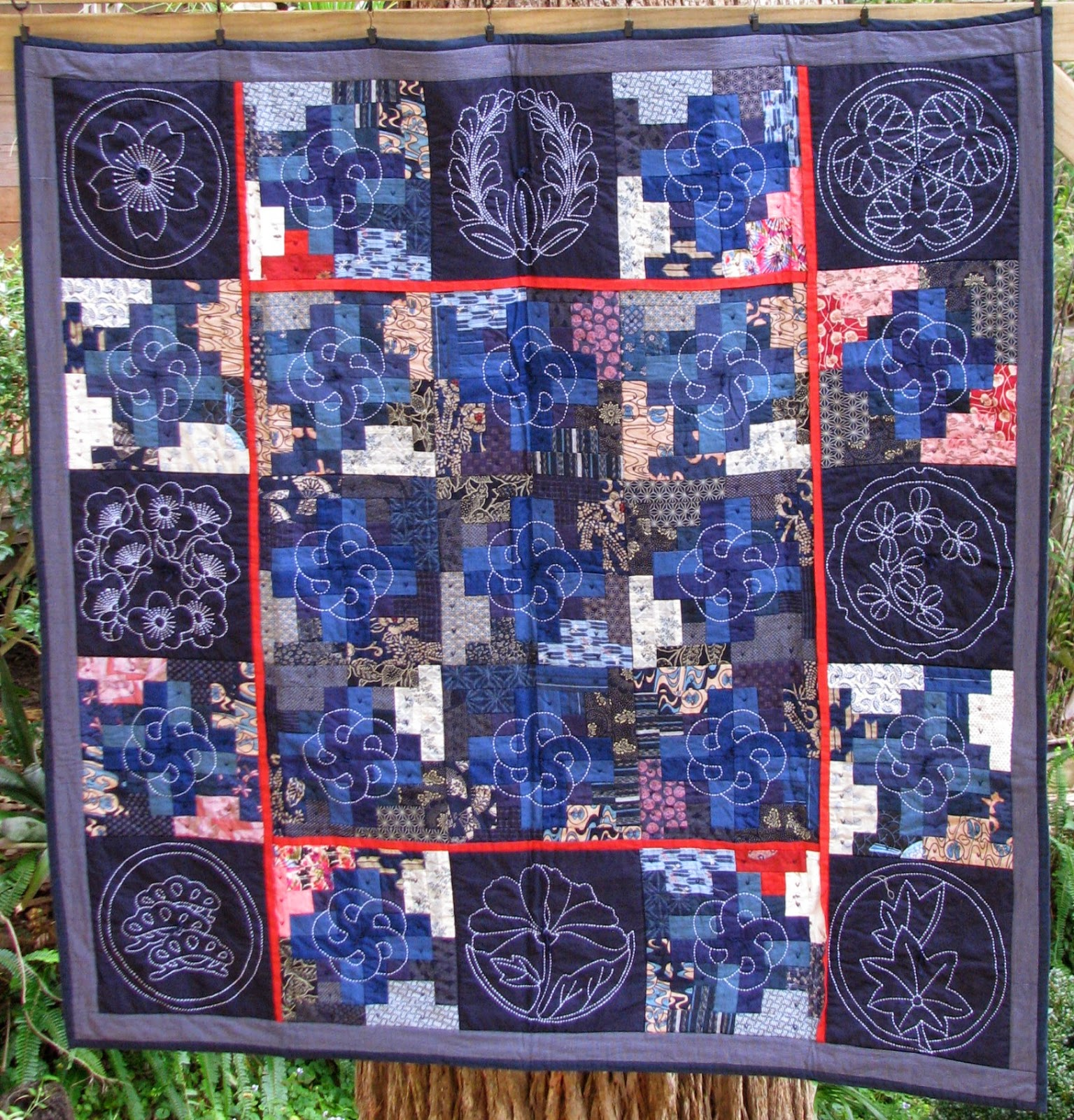 On the Spur Quilting : Old Kyoto Inspiration