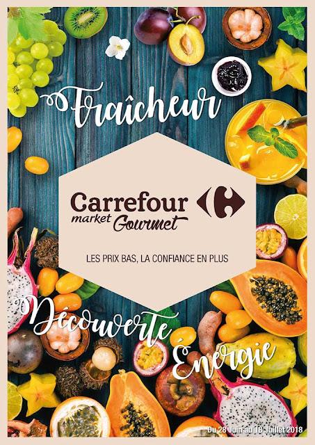 catalogue carrefour gourmet juin juillet 2018