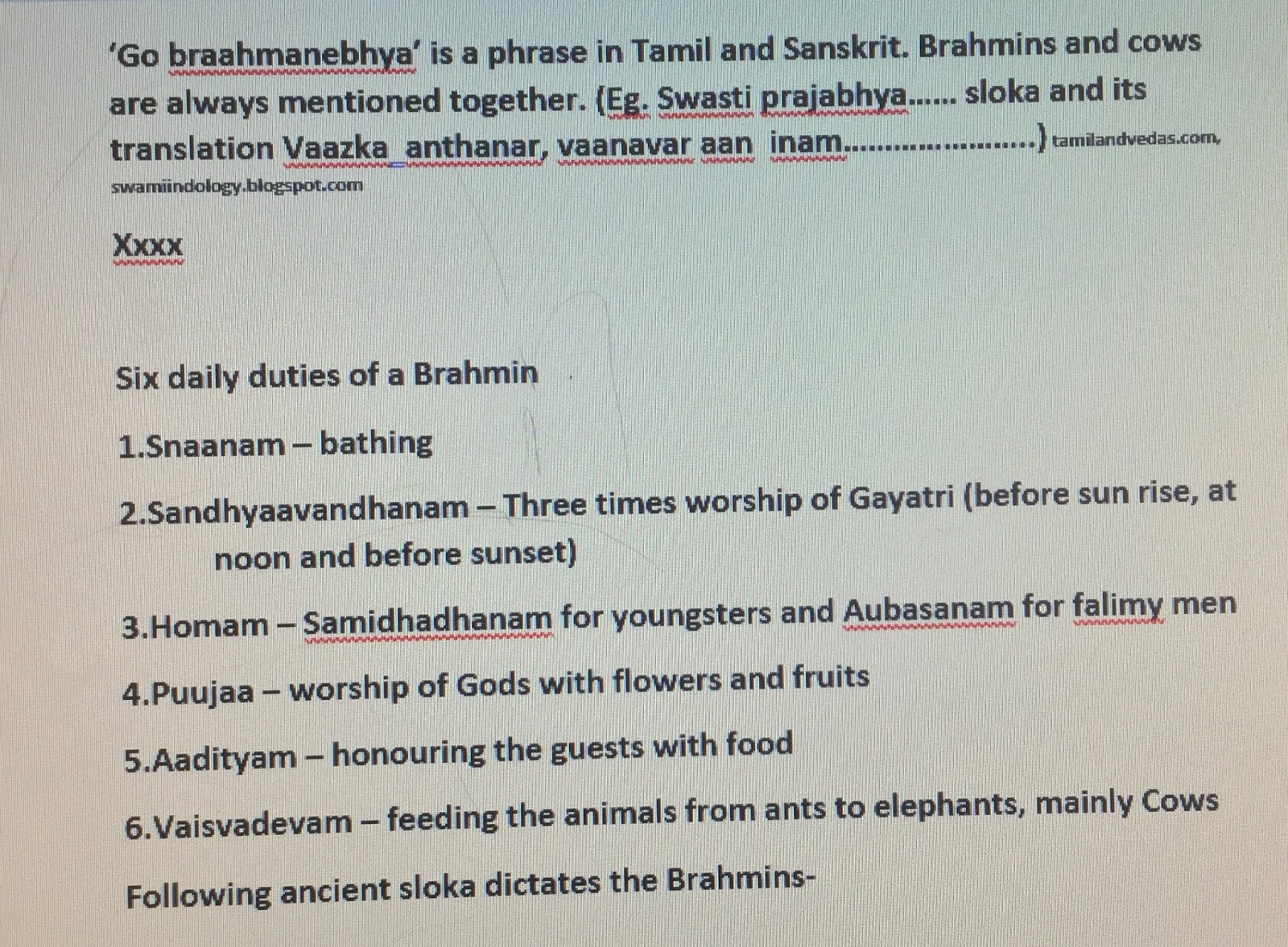 BASIC QUESTIONS ABOUT TAMILS & HINDUISM | Swami's Indology Blog