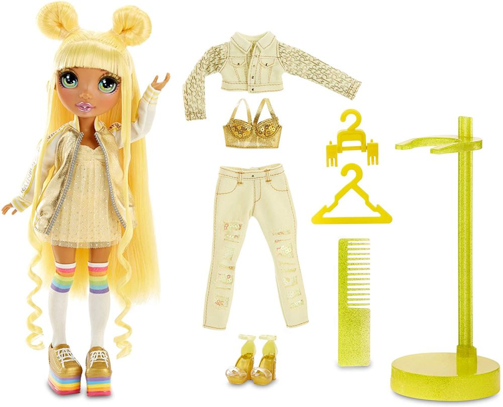 Кукла блондинка Rainbow High Sunny Madison
