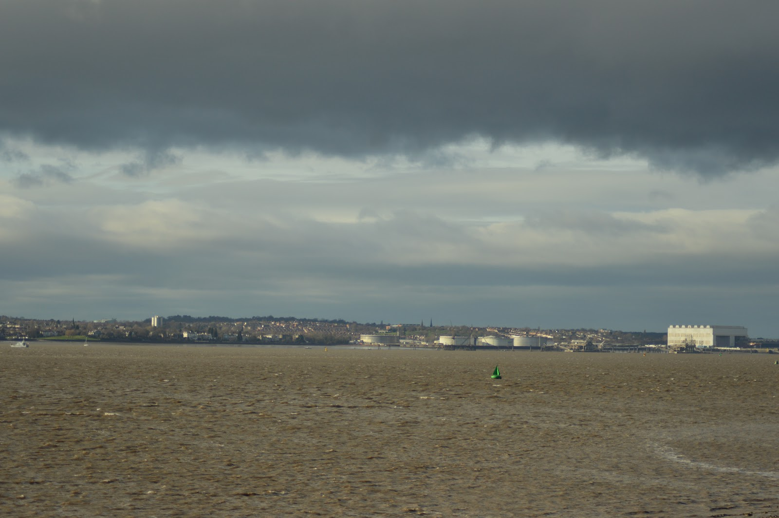 A view of the river Mersey