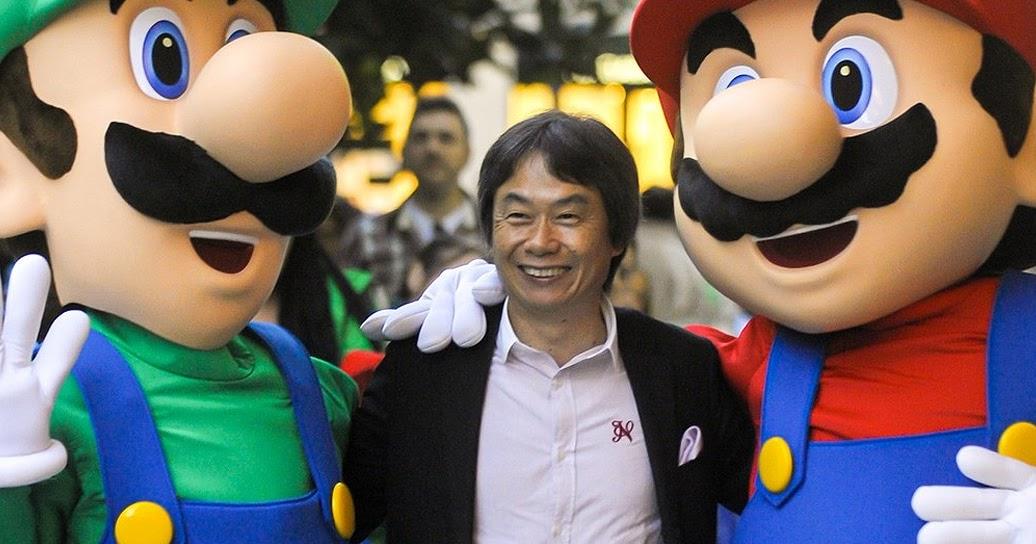 Resultado de imagem para shigeru miyamoto