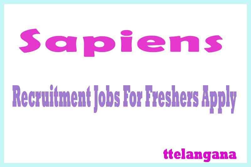 Sapiens Recruitment Jobs For Freshers Apply