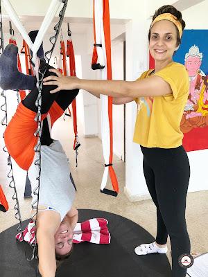 yoga aéreo, air yoga, aerial yoga, fly yoga, yoga aérea, puerto rico, formación yoga aéreo, yoga aéreo españa, teacher training, seminarios, cursos, clases, yoga aéreo teacher training