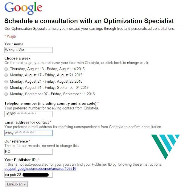 Mendapat Telfon dari Konsultan Google Adsense