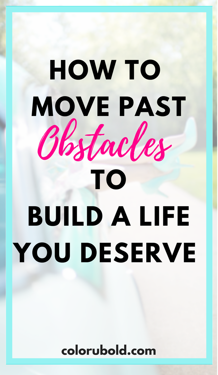 How to rebuild your life after obstacles.