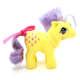 My Little Pony Baby Lemon Drop Year Four Int. Playset Ponies III G1 Pony