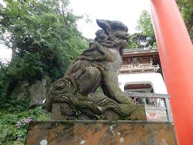 江島神社狛犬