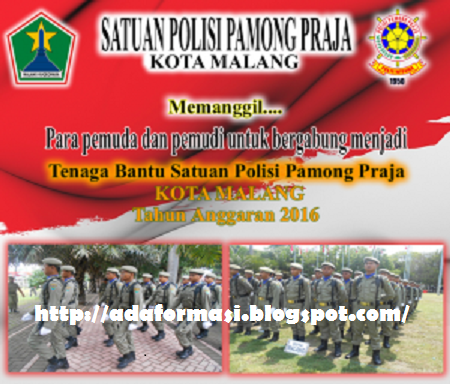 Lowongan satpol pp