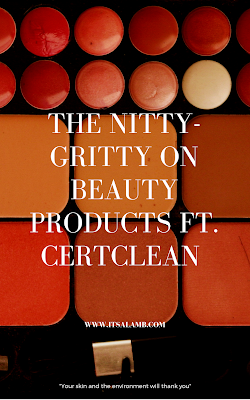 The Nitty-Gritty on Beauty Products ft. CertClean | Read it on www.itsalamb.com #certclean #naturalskincare #naturalbeauty #greenbeauty #cleanbeauty