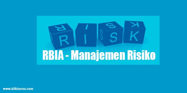 RBIA - manajemen risiko