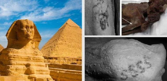 Tato Tertua di Dunia Ditemukan Pada Mumi di Mesir