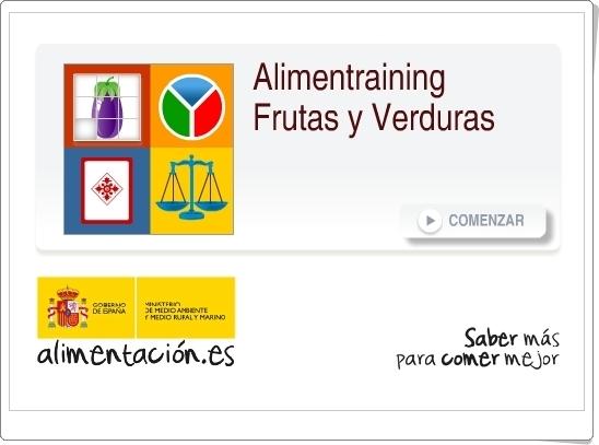 """""""Alimentraining. Frutas y Verduras"""" (Juegos de Alimentación)"""
