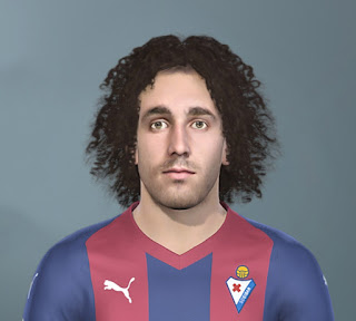 PES 2020 Faces Marc Cucurella by The White Demon